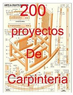 200 proyectos de carpinter a pdf descargar gratis