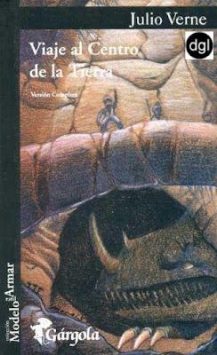 Un libro al día: Julio Verne: Viaje al centro de la tierra.