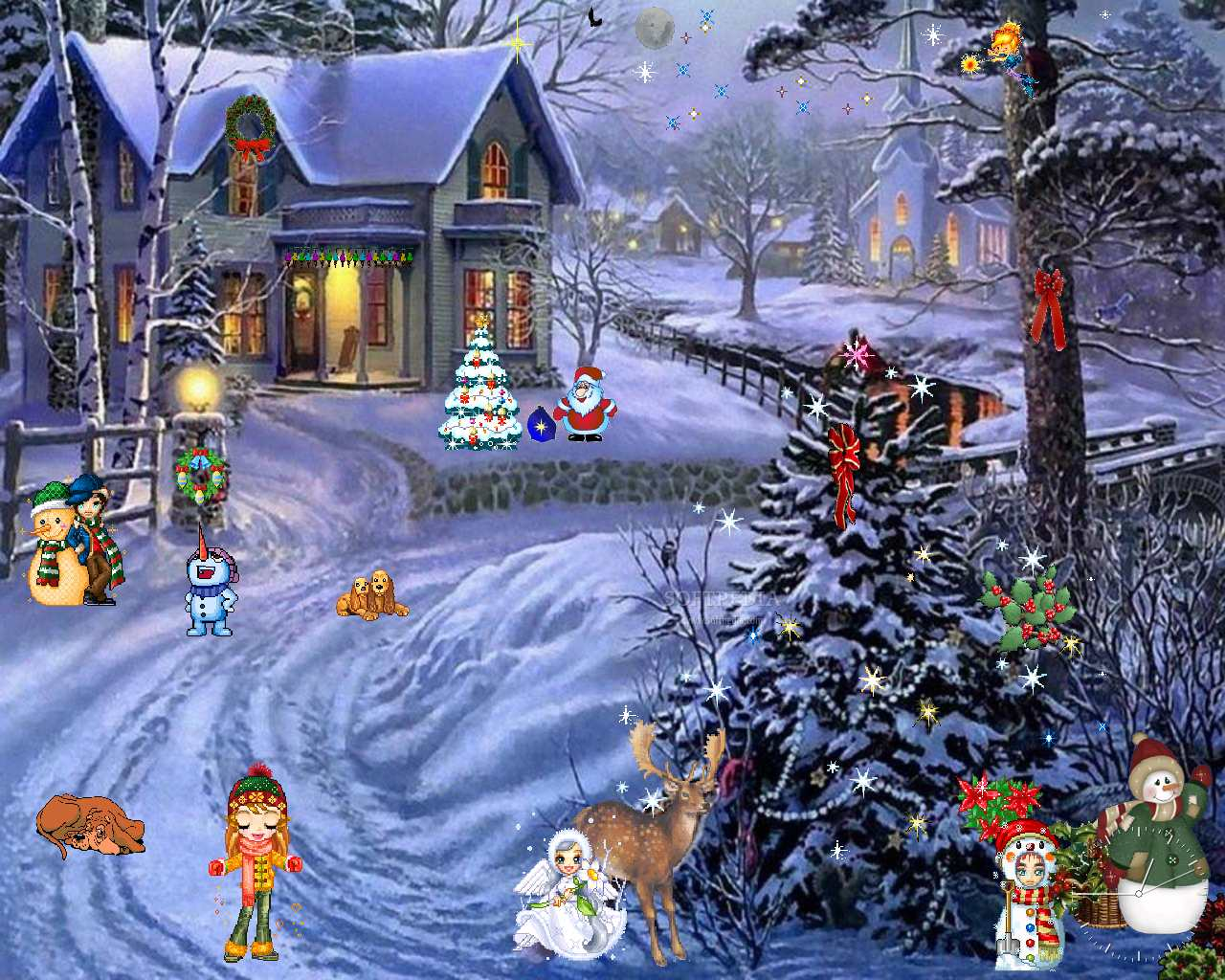 pictures for everyone   no trash  christmas and winter