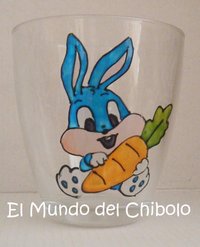 Vaso bos bony bebe con zanahoria