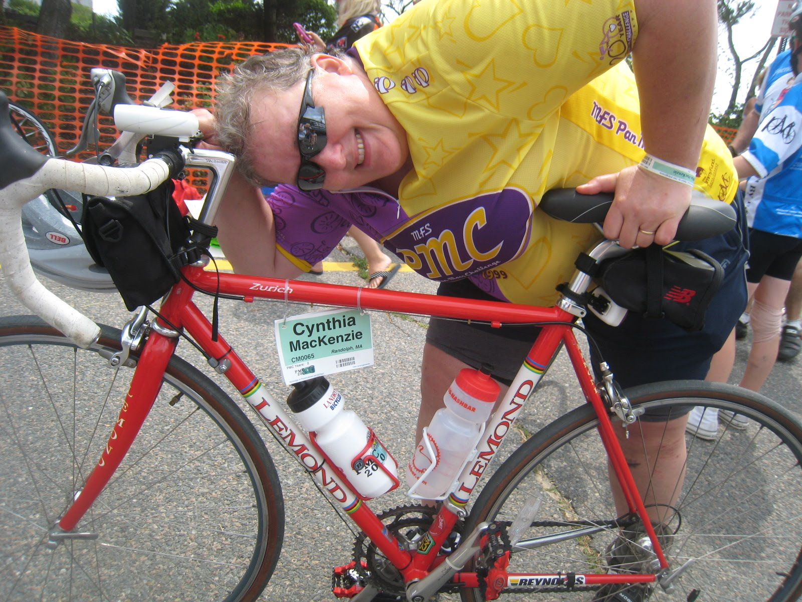 Cindy Mackenzie's Pan Mass Challenge Blog