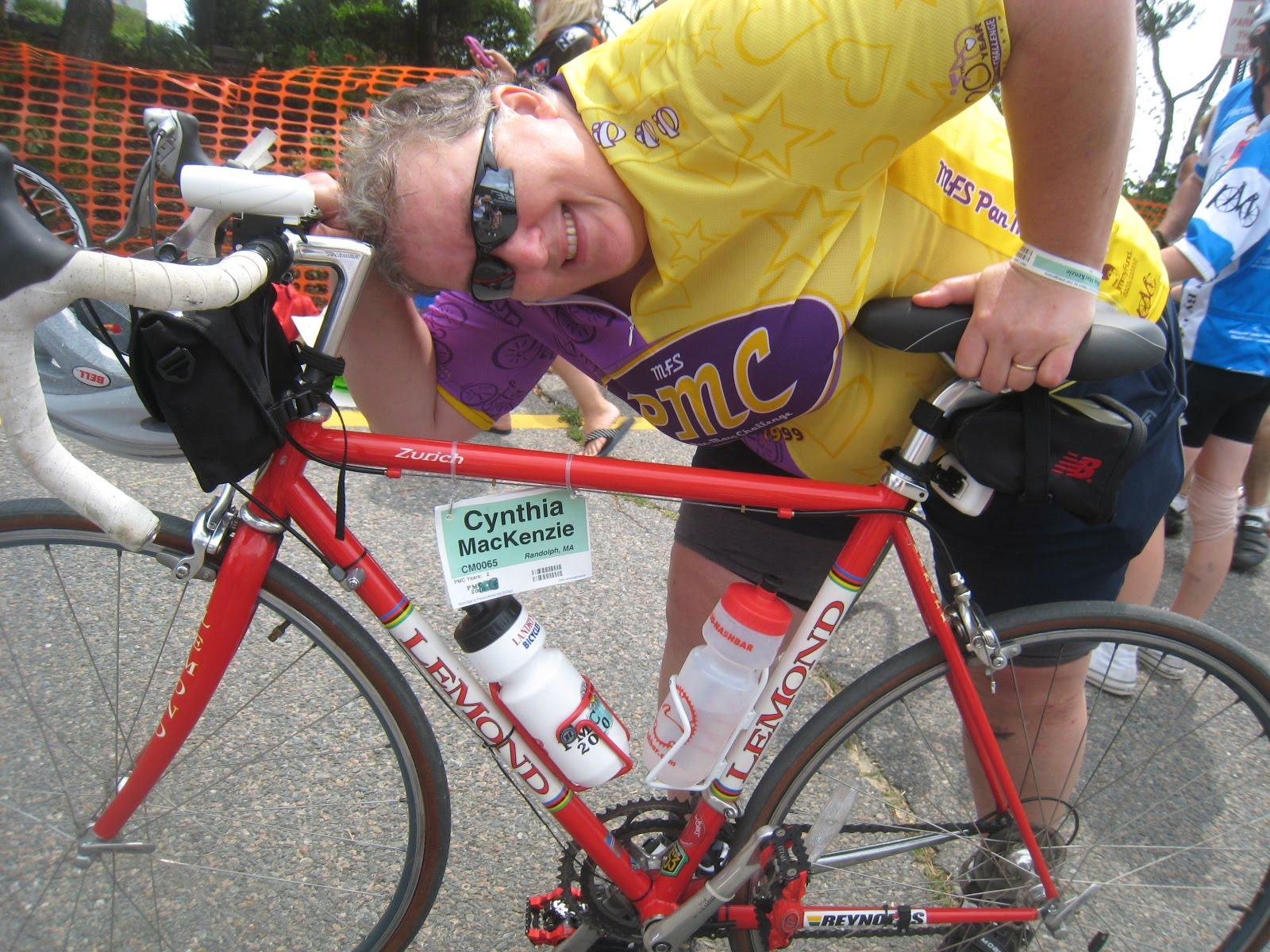Cindy Mackenzie's Pan Mass Challenge Blog