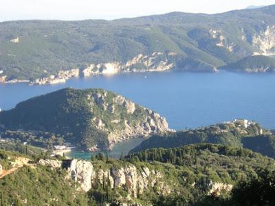 Corfu Paleokastriza