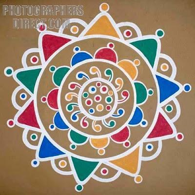 Diwali Rangoli 2009 | Various Rangoli Design | Bollywood Jannat