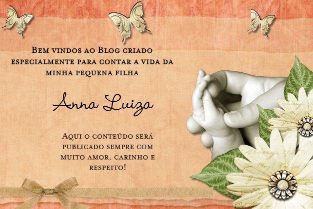 Minha Pequena Anna Luiza