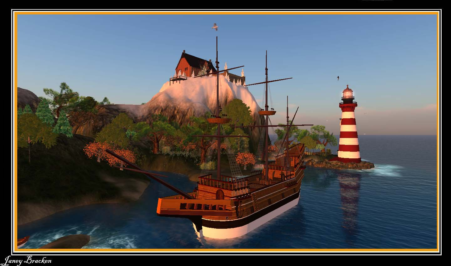Our Virtual Trilogy Life On Board The Mayflower In Sl