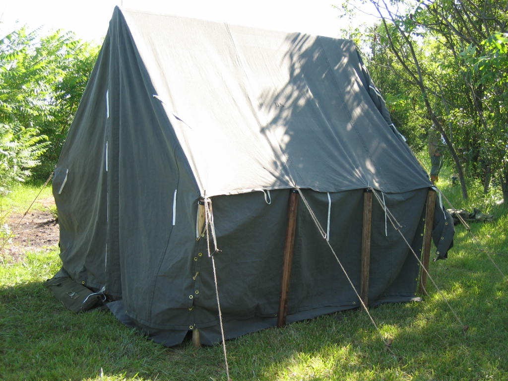 Armbruster Tents At WWII Weekend 2010 Jefferson Barracks