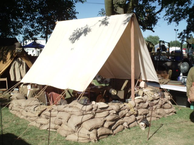 World War I Tent Fly & Historical Military Tent Flys | Armbruster Tent Maker