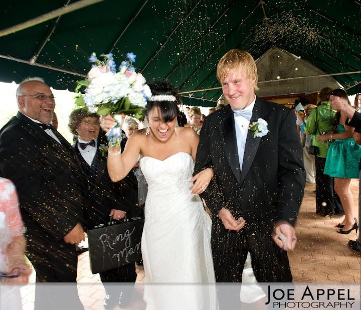 Wedding Recessional Birdseed