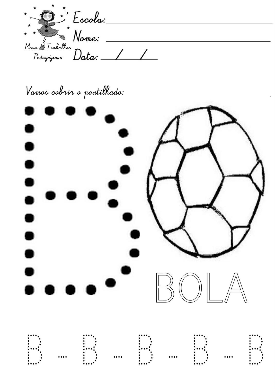 Super Meus Trabalhos Pedagógicos ®: ATIVIDADES COM PONTILHADOS -APOSTILA  OV34