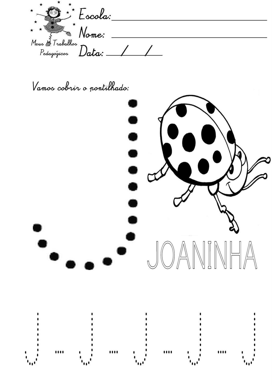 Amado Meus Trabalhos Pedagógicos ®: ATIVIDADES COM PONTILHADOS -APOSTILA  RR87