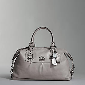 coach gray bag ezak  Lisa's Most Coveted List