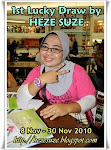 1st Lucky Draw by HEZE SUZE (30 November 2010)