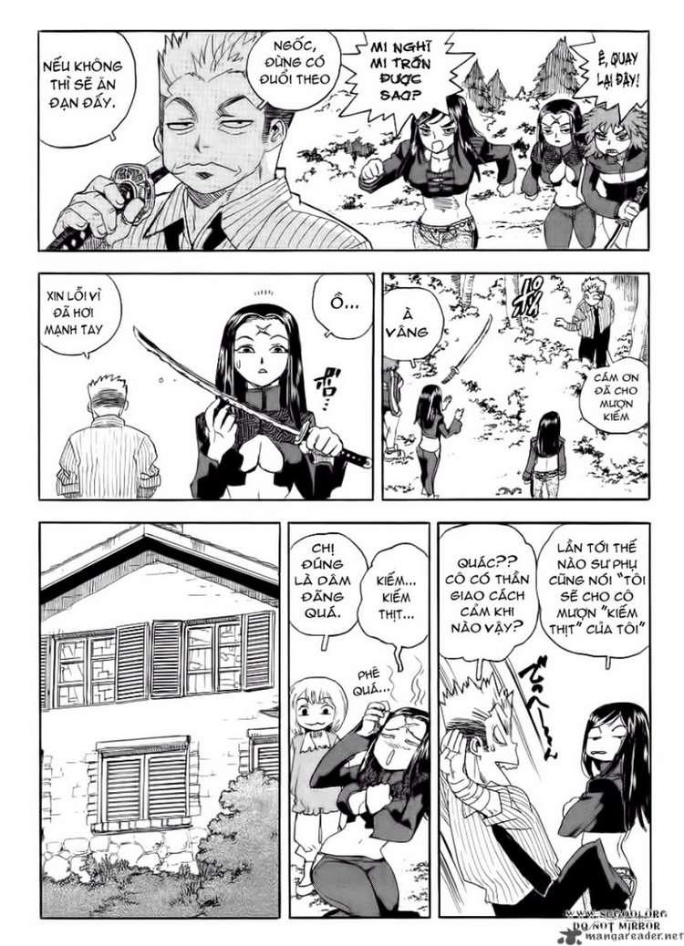 Aiki chap 64 - Trang 24