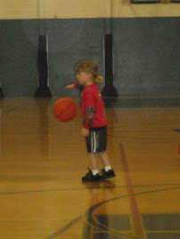D's first basketball class