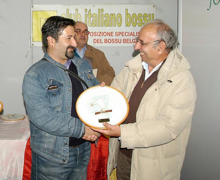 premiazione Club Italiano Bossù 1° categoria  Reggio Emilia 2009 2° Assoluto