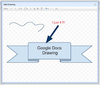 Drawing in Google Docs