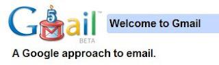 Gmail 5 Years Logo