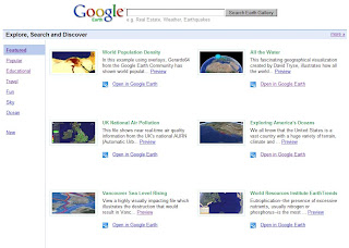 Google Earth Gallery on Happy Earth Day