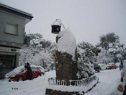 La caldereta también ha recogido nieve