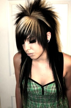 japanese punk hairstyle. Emo Punk Hairstyles For