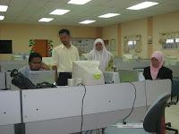 JU yang sepakat, En.Fadhil,En.Rizal,Cik Wana, n Pn. Rusilawati