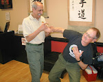 Hapkido --  Grand Master Pelegrine demonstrates wrist lock on Hawkeye