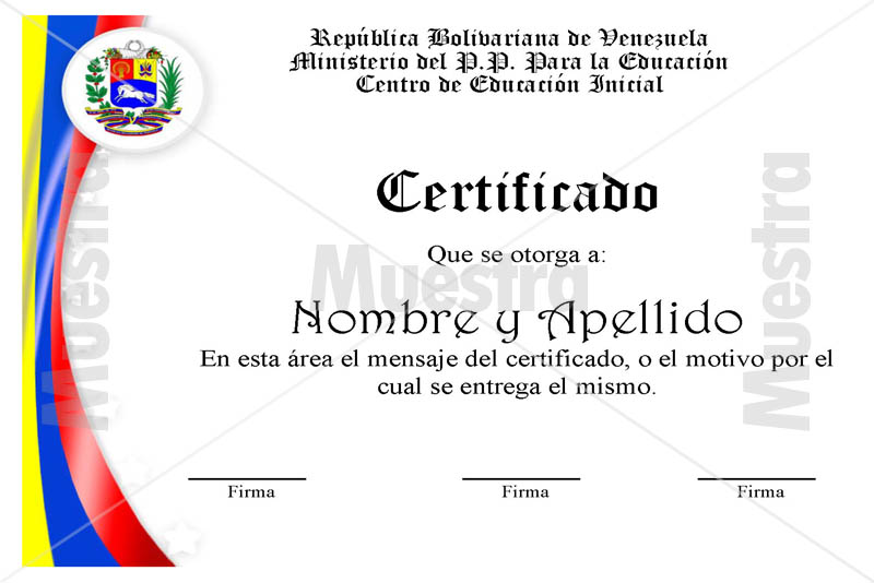 Diplomas en word para modificar - Imagui