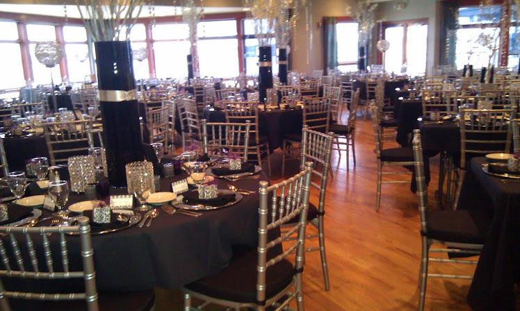 Chiavari chairs Eastport Marina