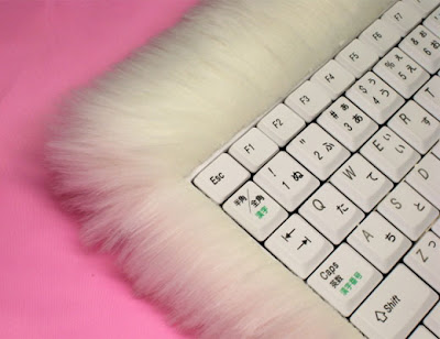Keyboard pimp cat fur cute