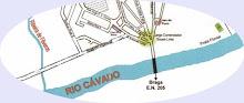 Mapa do Rio Cávado