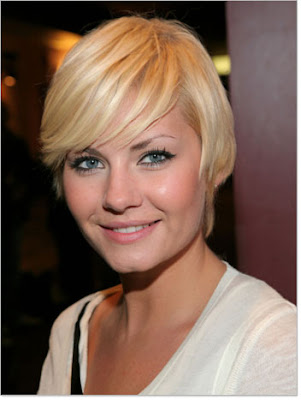 Wedge haircut is considered a short haircut, but has also been set up with medium hair. Although the hair style that most often made with