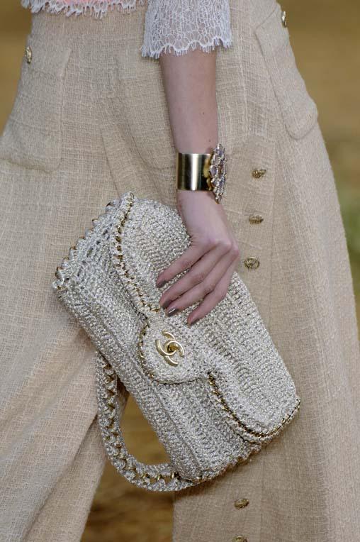 Bolsa De Mao Chanel : Bolsos de croche imagui