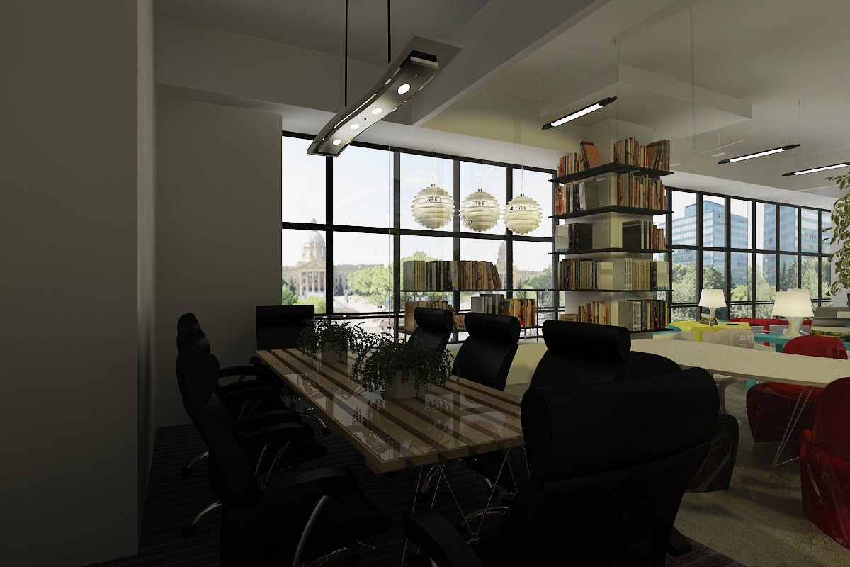 graphic designer office sophisticated