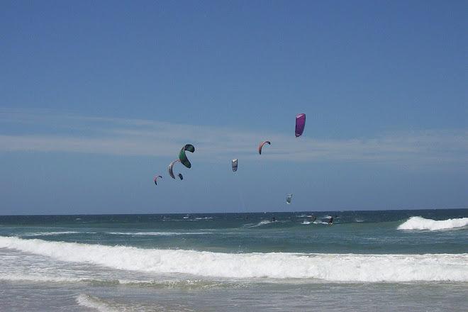 Kite-surf en la isla de Canpeche