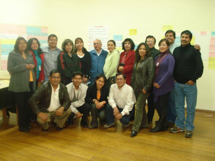 Integrantes de la Plataforma GIRH Sub Cuenca del Huatanay