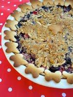 Cherry Berry Crumble Pie by Erin of Milk & Honey