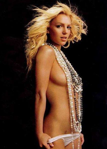 britney spears nude shower