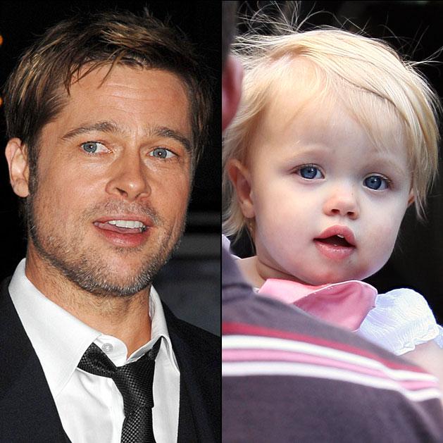 Brad Pitt Daughter Shi...
