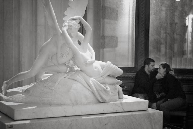 Psyche ranimée par le baiser de l'amour Antonio Canova