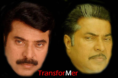 transformer, great actor, makeup, magic