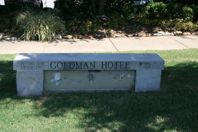 Goldman Hotel Bench
