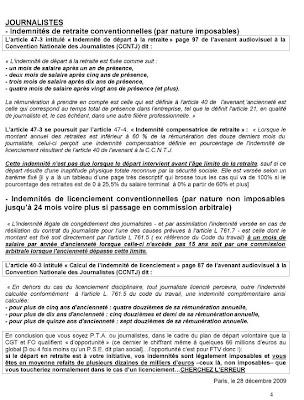 Le Blog Cgc Des Medias 20 Decembre 2009