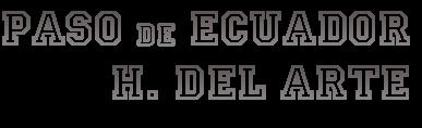 Paso de Ecuador Hª del Arte :: Santiago de C.