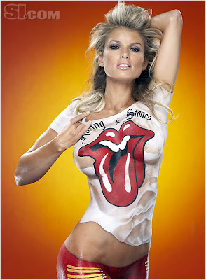 Marisa Miller Woman Celebrity For Body Paint Pics- Marisa Miller Body Painting
