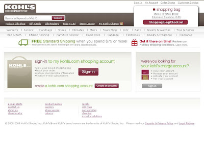 www.Kohls.Com My Account - Login to My Kohl's Account