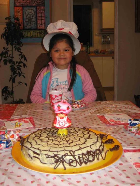 Melissa y su tortita