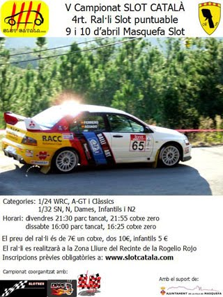 RALLY DE MASQUEFA (ABRIL)