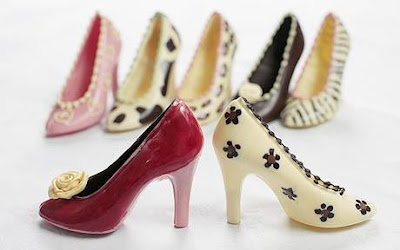 Chocolate shoes, stiletto's
