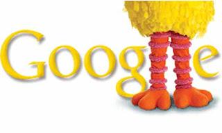 Google Doodle, Sesame Street, Big Bird